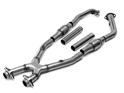 Bassani Catted X-Pipe (99-04 4.6L w/ Manual Transmission, Excluding 03-04 Cobra)