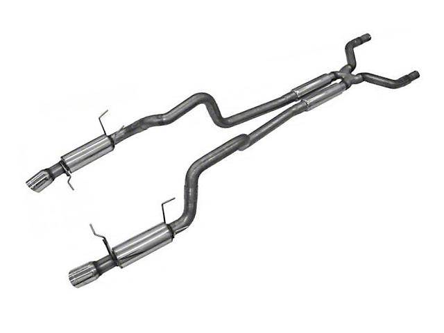 Bassani Cat-Back Exhaust w/ X-Pipe (11-14 GT)