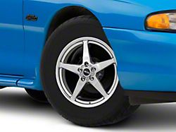 Race Star 92 Drag Star Polished Wheel; Front Only; Direct Drill; 15x3.75 (94-98 GT, V6)