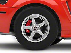Race Star 92 Drag Star Polished Wheel; Rear Only; Direct Drill; 15x10 (99-04 GT, V6)