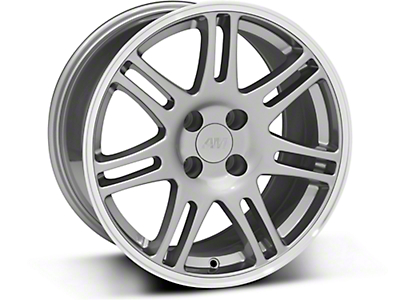 10th Anniversary Cobra Style Anthracite Wheel - 17x9 (87-93 All, Excluding 1993 Cobra)