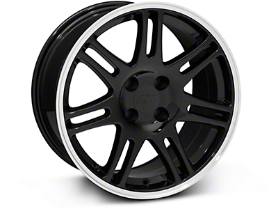 10th Anniversary Cobra Style Black Wheel - 17x9 (87-93 All, Excluding 1993 Cobra)