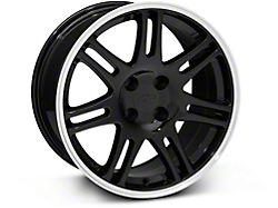10th Anniversary Cobra Style Black Wheel; 17x9 (87-93 All, Excluding Cobra)