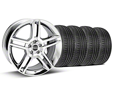 2010 GT500 Style Chrome Wheel & Sumitomo Tire Kit - 19x8.5 (05-14)