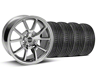 FR500 Style Chrome Wheel & Sumitomo Tire Kit - 17x9 (99-04)