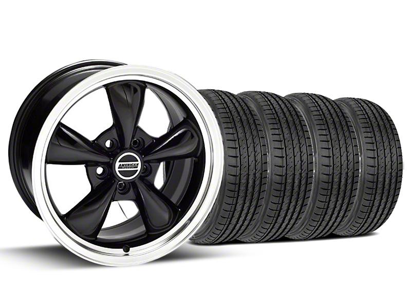 Bullitt Black Wheel & Sumitomo Tire Kit - 17x9 (99-04 All)