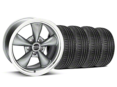 Bullitt Anthracite Wheel & Sumitomo Tire Kit - 17x9 (99-04 All)