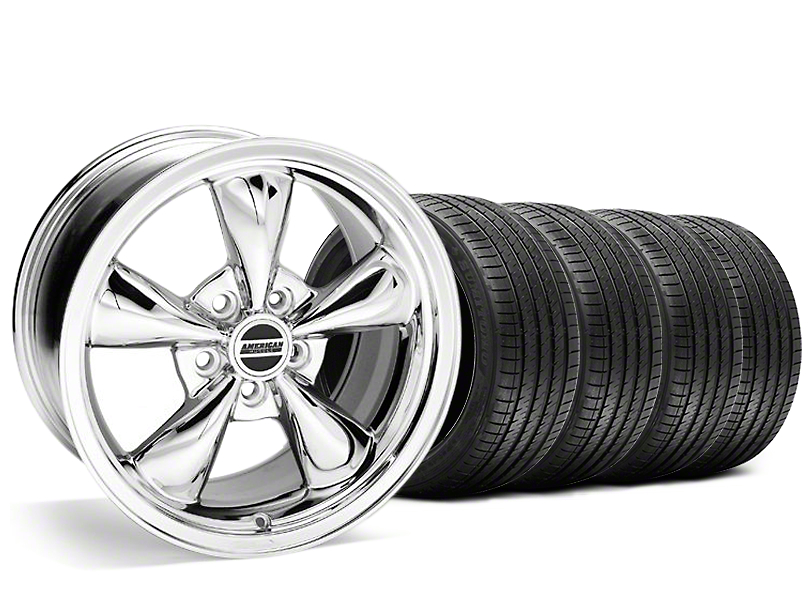 Bullitt Chrome Wheel & Sumitomo Tire Kit - 20x8.5 (05-10 GT; 05-14 V6)