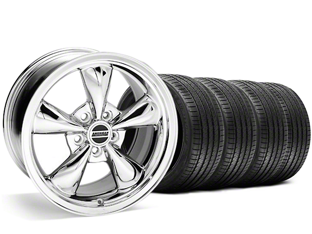 Bullitt Chrome Wheel & Sumitomo Tire Kit - 20x8.5 (05-14 V6; 05-10 GT)