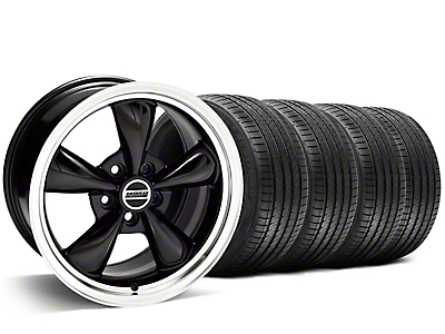 Bullitt Black Wheel & Sumitomo Tire Kit - 20x8.5 (05-10 GT; 05-14 V6)