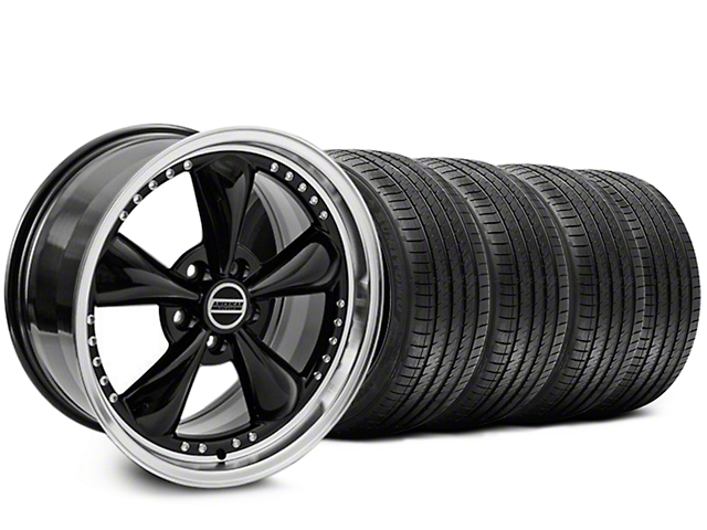 Bullitt Motorsport Black Wheel & Sumitomo Tire Kit - 20x8.5 (05-14 V6; 05-10 GT)