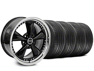 Bullitt Motorsport Black Wheel & Sumitomo Tire Kit - 20x8.5 (05-10 GT; 05-14 V6)