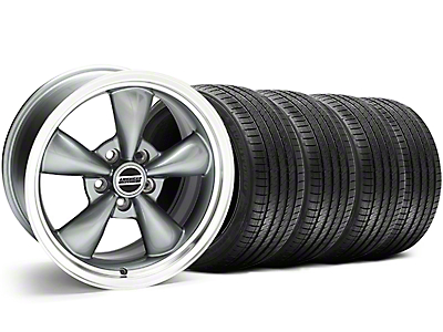Bullitt Anthracite Wheel & Sumitomo Tire Kit - 18x9 (05-10 GT; 05-14 V6)