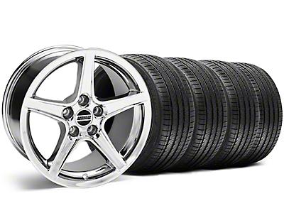 Bullitt Black Wheel & Sumitomo Tire Kit - 18x9 (99-04 All)