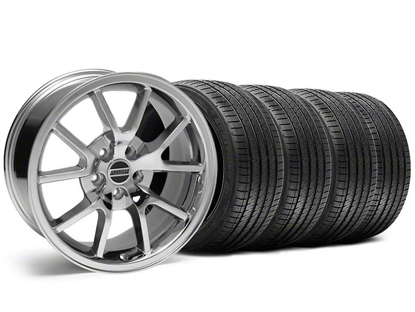 FR500 Style Chrome Wheel & Sumitomo Tire Kit - 18x9 (99-04 All)