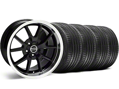 FR500 Style Black Wheel & Sumitomo Tire Kit - 18x9 (99-04 All)