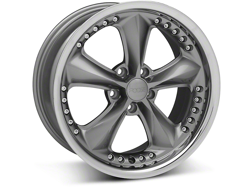 Foose Nitrous Gray Wheel - 18x9 (05-14 GT, V6)