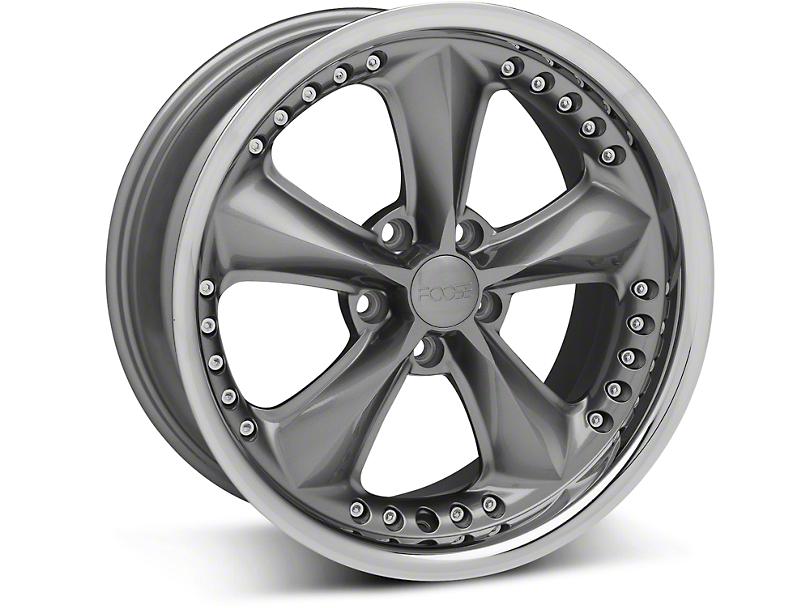 Foose Nitrous Gray Wheel - 18x9 (94-04 All)