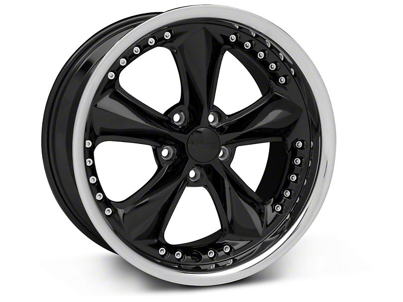 Foose Nitrous Black Wheel - 18x9 (94-04 All)