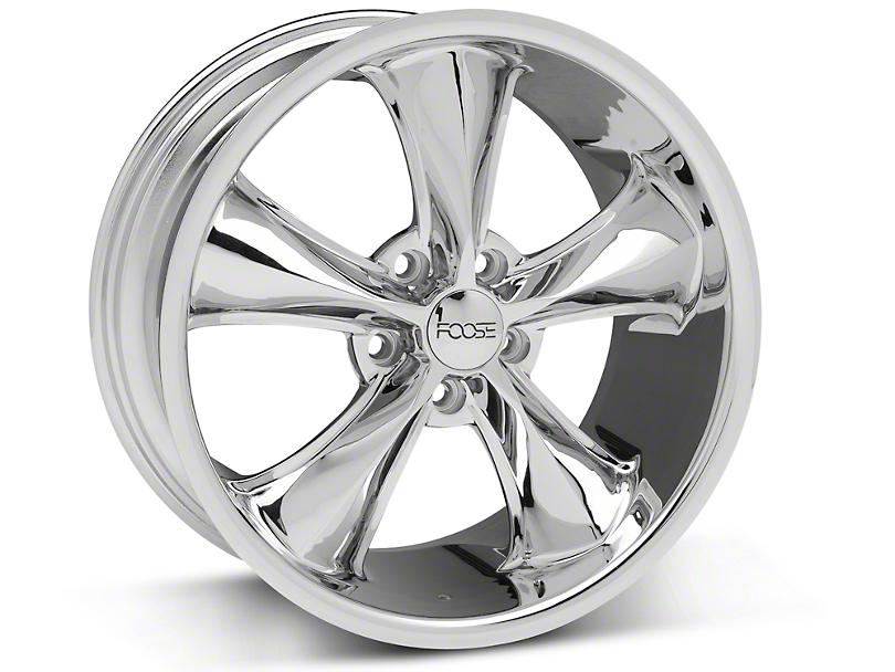 Foose Legend Chrome Wheel - 18x8.5 (05-10 GT, V6)