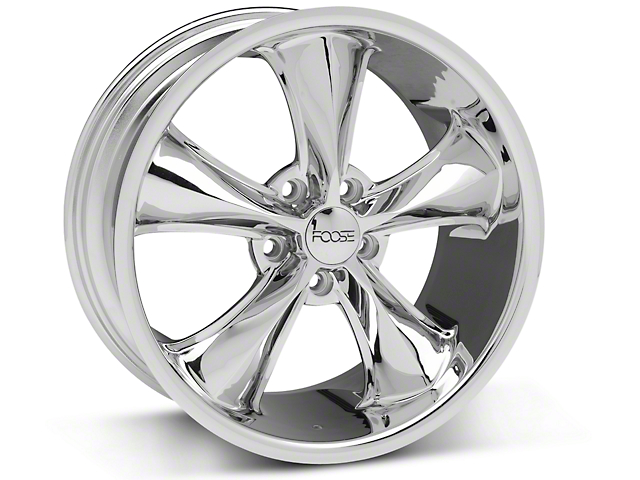 Foose Legend Chrome Wheel; 18x8.5 (05-09 GT, V6)