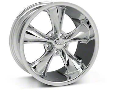 Foose Legend Chrome Wheel - 18x9.5 (05-10 GT, V6)