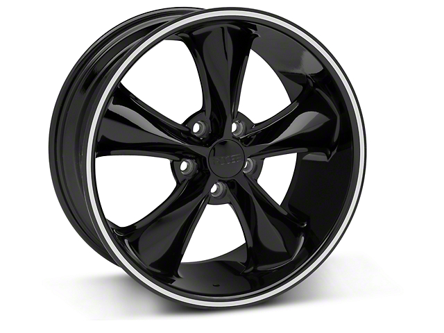 Foose Legend Black Wheel - 18x8.5 (05-10 GT, V6)
