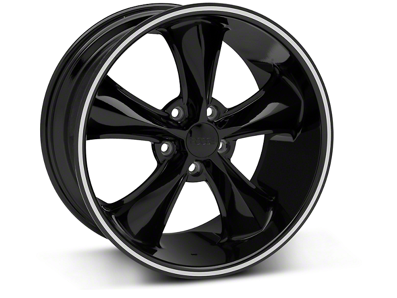 Foose Legend Black Wheel - 18x9.5 (05-10 GT, V6)