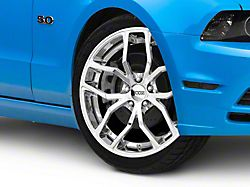 Foose Outcast Chrome Wheel; 20x8.5 (10-14 All)