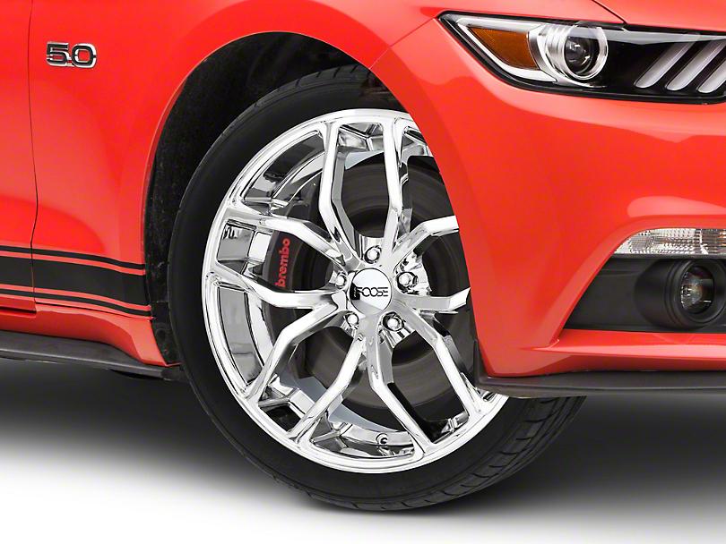 Foose Outcast Chrome Wheel - 20x8.5 (15-18 GT, EcoBoost, V6)