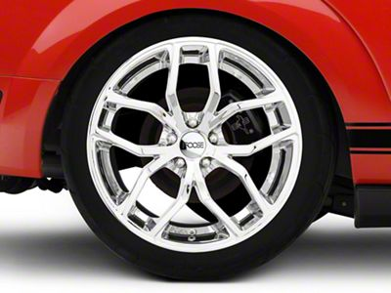 Foose Outcast Chrome Wheel - 20x10 - Rear Only (05-14 All)