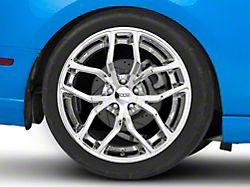 Foose Outcast Chrome Wheel; Rear Only; 20x10 (10-14 All)