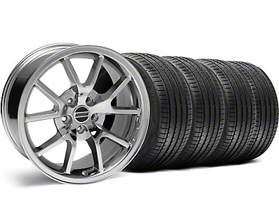 Staggered FR500 Style Chrome Wheel & Sumitomo Tire Kit - 18x9/10 (99-04 All)