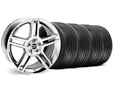 2010 GT500 Style Chrome Wheel & Sumitomo Tire Kit - 18x9 (99-04 All)