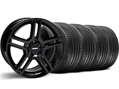 2010 GT500 Style Black Wheel & Sumitomo Tire Kit - 18x9 (99-04 All)