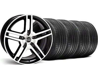 2010 GT500 Style Black Machined Wheel & Sumitomo Tire Kit - 18x9 (99-04 All)