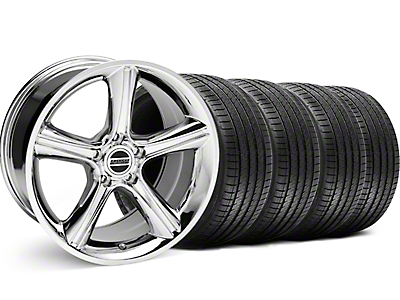2010 GT Premium Style Chrome Wheel & Sumitomo Tire Kit - 18x9 (99-04 All)