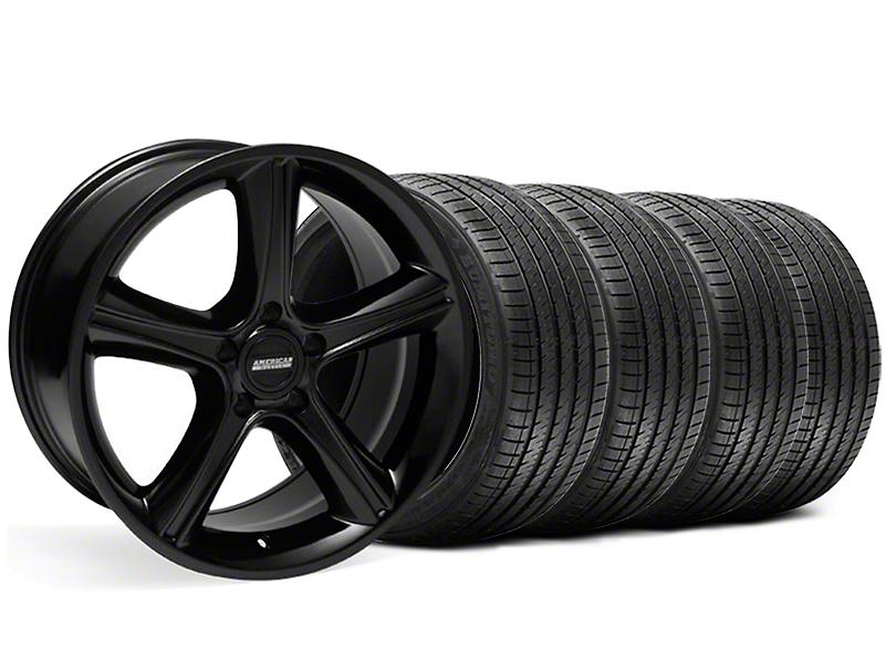 2010 GT Premium Style Black Wheel & Sumitomo Tire Kit - 18x9 (99-04)