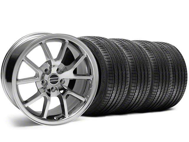 FR500 Style Chrome Wheel & Sumitomo Tire Kit - 18x9 (05-14 All, Excluding 13-14 GT500)