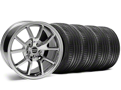 FR500 Style Chrome Wheel & Sumitomo Tire Kit - 18x9 (05-14)