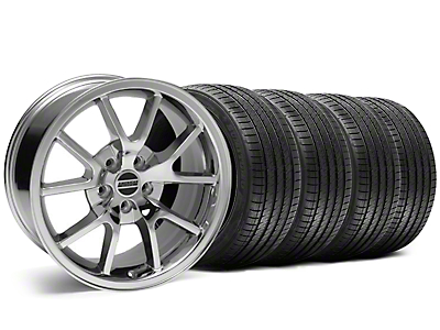 Staggered FR500 Style Chrome Wheel & Sumitomo Tire Kit - 18x9/10 (05-14)