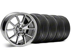 Staggered FR500 Style Chrome Wheel and Sumitomo Maximum Performance HTR Z5 Tire Kit; 18x9/10 (05-14 All)
