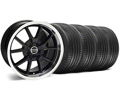 FR500 Style Black Wheel & Sumitomo Tire Kit - 18x9 (05-14 All, Excluding 13-14 GT500)