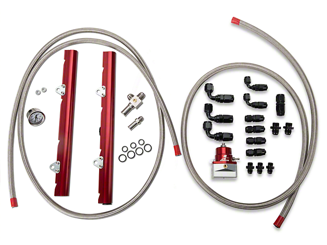 Aeromotive High Flow Fuel Rail Kit (86-95 GT, Cobra)