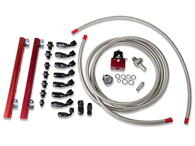 Aeromotive High Flow Fuel Rail Kit (96-98 GT)
