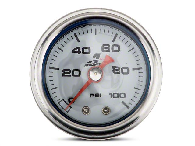 Aeromotive Fuel Pressure Gauge - Mechanical (79-18 All)