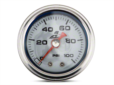 Aeromotive Fuel Pressure Gauge - Mechanical (79-19 All)