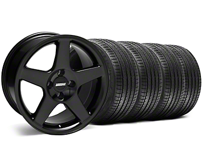 2003 Cobra Style Black Wheel & Sumitomo Tire Kit - 17x9 (87-93 All, Excluding 1993 Cobra)