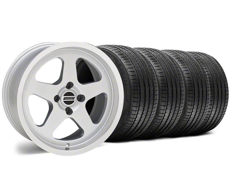 SC Style Silver Wheel & Sumitomo Tire Kit - 17x8 (87-93 All, Excluding 1993 Cobra)
