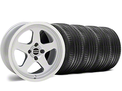 SC Style Silver Wheel & Sumitomo Tire Kit - 17x8 (87-93 All, Excluding 1993 Cobra)